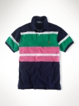 Ralph lauren polo classic fit multi striped marinho