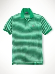 Ralph lauren polo fit striped verde