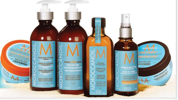 moroccanoil linha de tratamento para os cabelos
