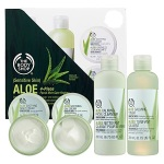 the body shop Aloe 4-Piece Facial Skin-Care Regime — Sensitive Skin