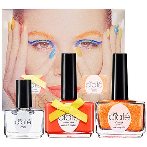 Ciate Corrupted Neons Manicure Set - Club Tropicana - orange