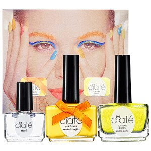 Ciate Corrupted Neons Manicure Set -  Megaphone - yellow